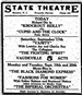 detailed ad about the state Theatre