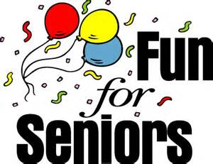 fun for seniors with confetti and balloons