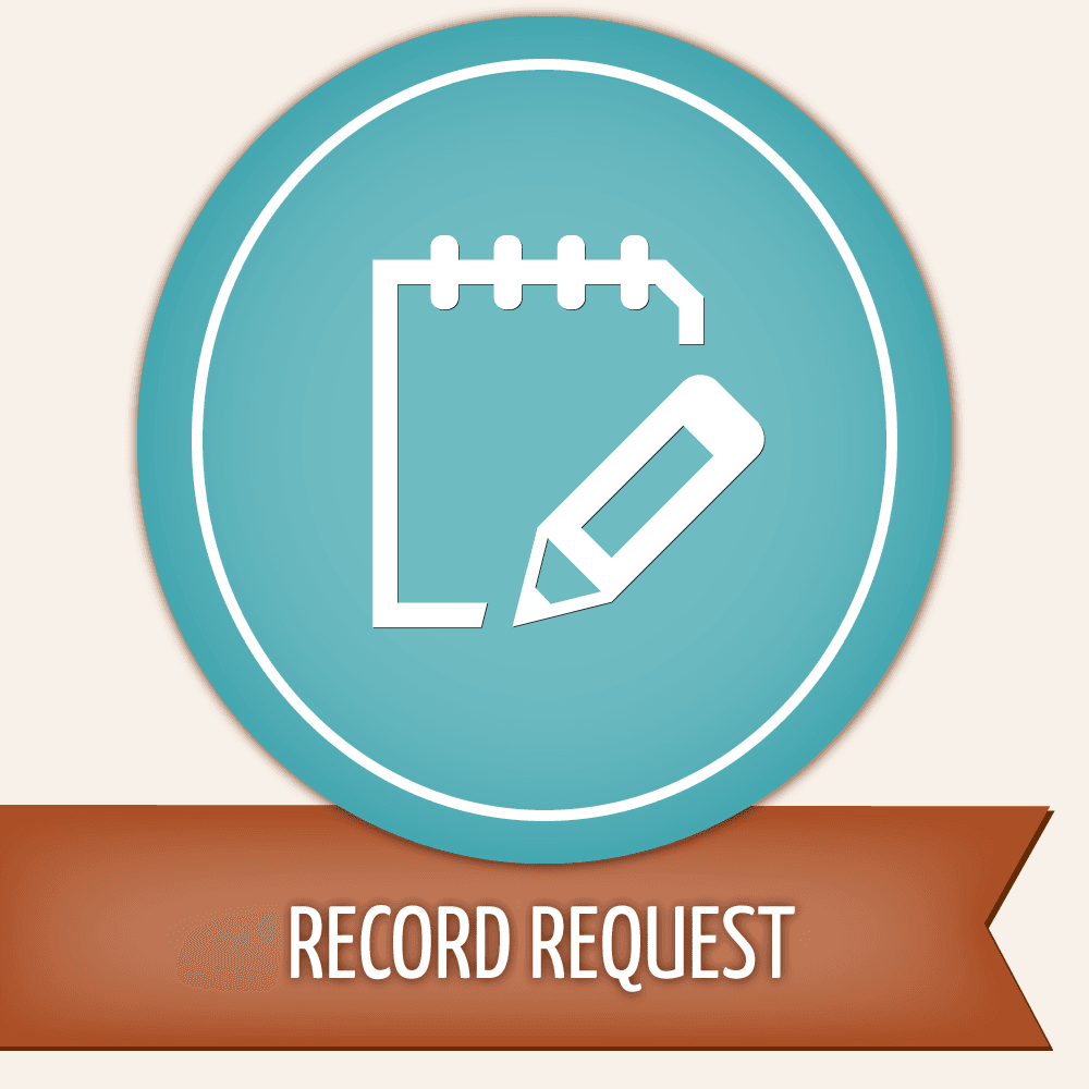 Records Request Button