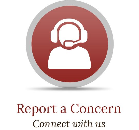 Report-a-Concern Button